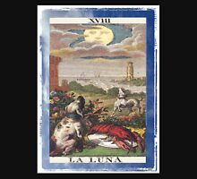 La Luna Blue Moon Tarot Card Unisex T-Shirt