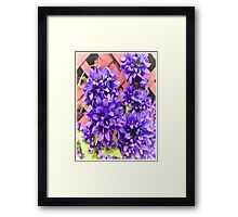 Church Flowers Framed Print