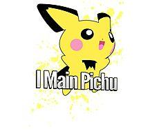 I Main Pichu - Super Smash Bros. Melee Photographic Print