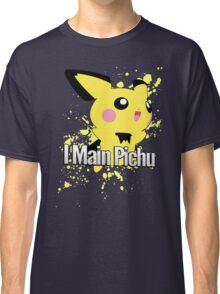 I Main Pichu - Super Smash Bros. Melee Classic T-Shirt