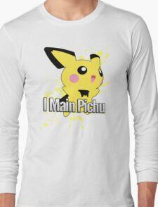 I Main Pichu - Super Smash Bros. Melee Long Sleeve T-Shirt