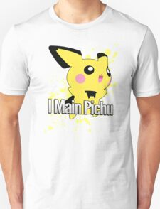 I Main Pichu - Super Smash Bros. Melee Unisex T-Shirt
