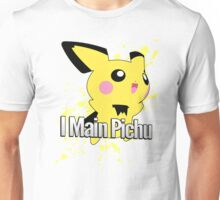 I Main Pichu - Super Smash Bros. Melee Unisex T-Shirt