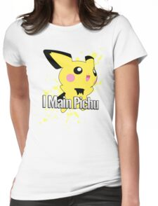 I Main Pichu - Super Smash Bros. Melee Womens Fitted T-Shirt