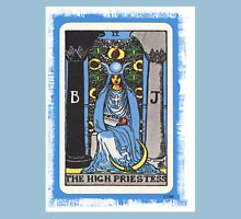 High Priestess Blue Tarot Card Fortune Teller Unisex T-Shirt