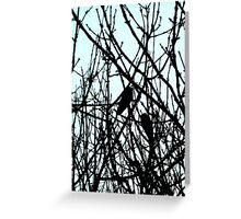 Blackbirds Greeting Card