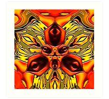 Sunfire 2000 Art Print