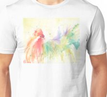 Watercolor Rooster Unisex T-Shirt