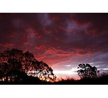Roaring Sunset Photographic Print