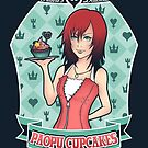 Kairi's Paopu Cupcakes (Kingdom Hearts) by Ruwah