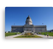 State Capital Canvas Print