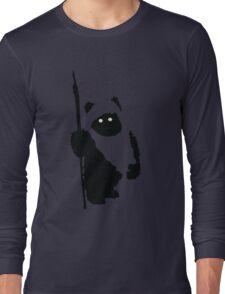 Ewok Silhouette Long Sleeve T-Shirt