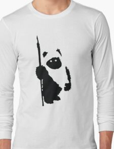 Ewok Silhouette Long Sleeve T-Shirt