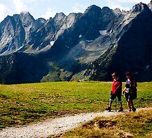 Alpen Footpath by AlexSaunders