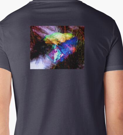 my heart is all aglow Mens V-Neck T-Shirt