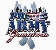 Proud Army Grandma by magiktees