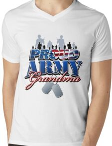 Proud Army Grandma Mens V-Neck T-Shirt