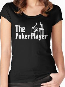 The Poker Player Women's Fitted Scoop T-Shirt