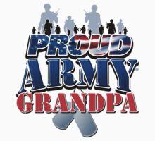 Proud Army Grandpa by magiktees