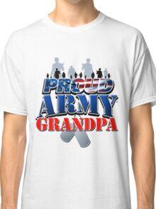 Proud Army Grandpa Classic T-Shirt