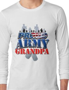 Proud Army Grandpa Long Sleeve T-Shirt