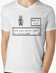 Professor Oak Pokemon. Are you bulking or cutting? Bulk edition Mens V-Neck T-Shirt