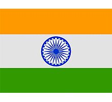 Flag of India Photographic Print