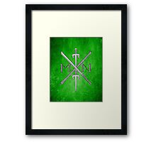 TMNT No Weapons, All Shell Framed Print