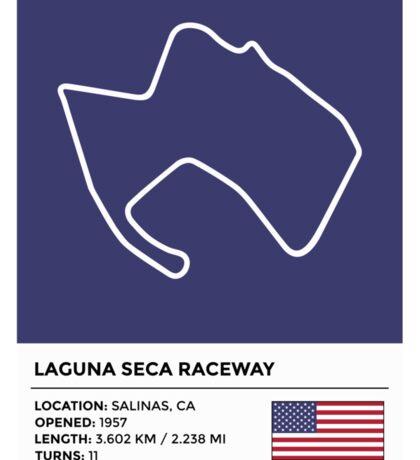 Laguna Seca Raceway - v2 Sticker