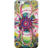 Blooming Orbs of Light: Inner Power Painting iPhone Case/Skin