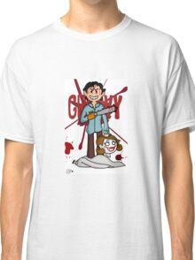 """Groovy"" - Evil Dead print Classic T-Shirt"