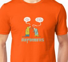 Reformers (The Martin Luther Action Figures) Unisex T-Shirt