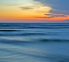 """Color Over Water - Gerroa Beach NSW"" by Darren Gray"
