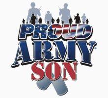 Proud Army Son by magiktees