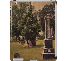 In the end, we become part of the garden iPad Case/Skin
