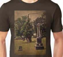 In the end, we become part of the garden Unisex T-Shirt