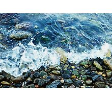 Rocky shoreline Photographic Print