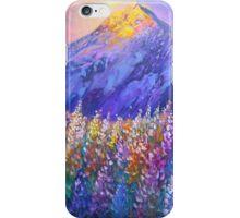 Mt Cook Lupins iPhone Case/Skin