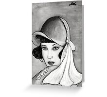 20s style Greeting Card