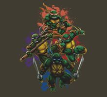 Teenage Mutant Ninja Turtles by magiktees