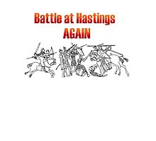 Battle at Hastings Again ANNUAL RE-ENACTMENT OF 1066 Photographic Print