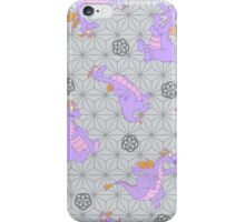 EPCOT Center Figment pattern iPhone Case/Skin