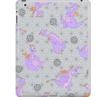 EPCOT Center Figment pattern iPad Case/Skin