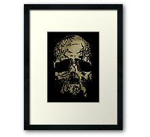 Old-Skull Framed Print