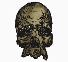 Old-Skull One Piece - Short Sleeve
