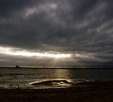 Shining Through Stormy Weather by C1oud