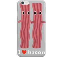 Love Bacon Gry iPhone Case/Skin