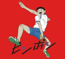 Ping Pong The Animation Print Peco Baby Tee
