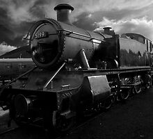 GWR Prairie Tank 5199 by David J Knight