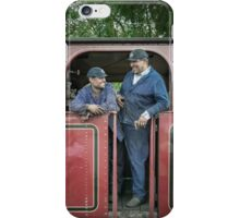 Coal Faced Train Drivers iPhone Case/Skin